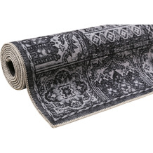 Wecon home Kurzflor-Teppich Fresh Bachtiar WH-19104-04 dunkelgrau 80x150