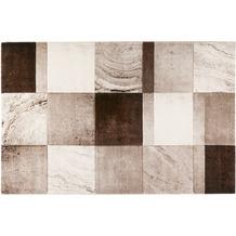 Wecon home Kurzflor-Teppich MIRAGE WH-22436-070 beige 80x150 cm