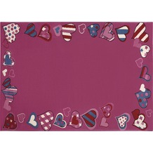 Wecon home Teppich, Just Hearts, WH-0766-03 80 cm x 150 cm