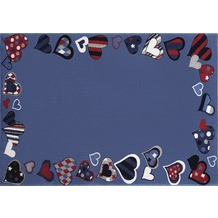 Wecon home Kinderteppich Just Hearts WH-0766-04 80 cm x 150 cm