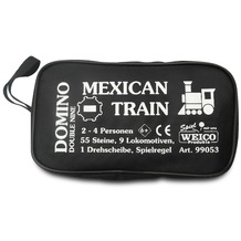 Weico Domino Mexican Train in Tasche