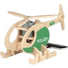 Weico Holzb. Solar Polizeihubschrauber