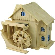 Weico Holzb. Wassermühle mit Solarantrieb