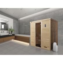 Weka Design-Sauna KEMI 4 GT, ohne Ofen