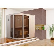 Weka Design-Sauna SARA 1 inkl. 7,5 kW BioS-Ofen