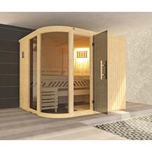Weka Design-Sauna SARA 2 inkl. 9,0 kW OS-Ofen