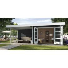 Weka Designhaus 126 B Gr.1, anthrazit, 28 mm, DT, Anbau 300 cm, ohne RW