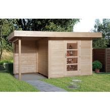 Weka Designhaus 172 A Gr.1, natur, 28 mm, ET, Anbau 150 cm, ohne RW