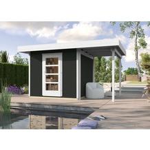 Weka Designhaus wekaLine 172 A Gr.3, anthrazit, 28 mm, ET, Anbau 150 cm
