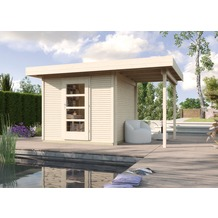 Weka Designhaus wekaLine 172 A, Gr.3, natur, 28 mm, ET, Anbau 150 cm