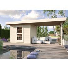 Weka Designhaus wekaLine 172 B Gr.2, natur, 28 mm, ET, Anbau 300 cm