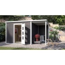 Weka Designhaus wekaLine 413 B Gr.1, anthrazit, 45 mm, ET, Anbau 300 cm