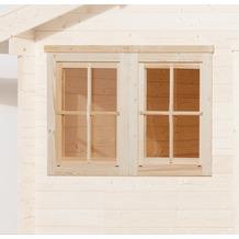 Weka Doppelfenster für weka Gartenhaus 45 mm, 138x79 cm
