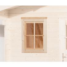 Weka Einzelfenster für weka Gartenhaus 21/28 mm, 69x79cm