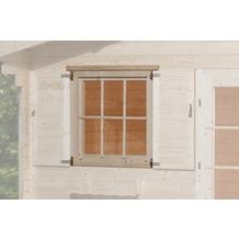 Weka Einzelfenster für weka Gartenhaus 45 mm, 91x91 cm