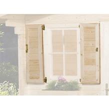 Weka Fensterladen 2-seitig für weka Weekendhaus 138