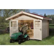 Weka Gartenhaus Premium28 DT, 300 x 250, V60