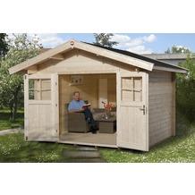 Weka Gartenhaus Premium28 DT, 300 x 380, V60,