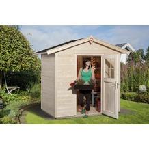 Weka Gartenhaus 223 Gr.1, natur, 21 mm, ET
