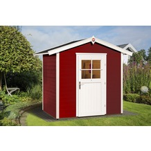 Weka Gartenhaus 223 Gr.1, schwedenrot, 21 mm, ET