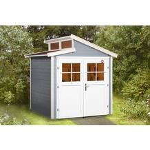 Weka Gartenhaus 226 Gr.1, grau, 21 mm