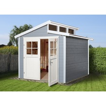 Weka Gartenhaus 226 Gr.2, grau, 21 mm