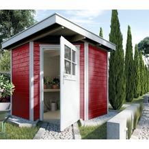 Weka Gartenhaus 229 Gr.1, schwedenrot, 21 mm