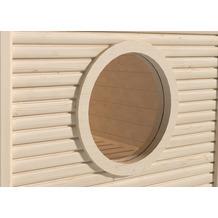 Weka Rundfenster für 45 mm MH-Saunen