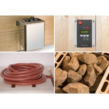 Weka Saunaofenset 4 - 9,0 kW OS mit Ofenanschlußkabel