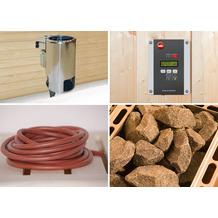 Weka Saunaofenset 5 - 3,6 kW Sauna-Dampfbad Kombiofen 230 V mit Ofenanschlußkabel
