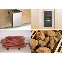 Weka Saunaofenset 6 - 4,5 KW BioS 230 V (20A) mit Ofenanschlußkabel