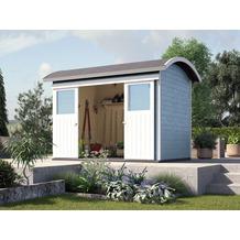 gartenhaus mit tonnendach. Black Bedroom Furniture Sets. Home Design Ideas