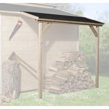 Weka Schleppdach für 19 und 21 mm, 80 x 200 cm, natur