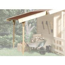 Weka Schleppdach für weka Gartenhaus ab Haustiefe 200 cm