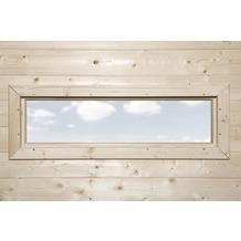 Weka Zusatzfenster 40 x 125 cm natur