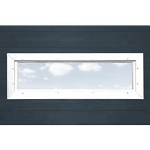 Weka Zusatzfenster 40 x 125 cm weiss