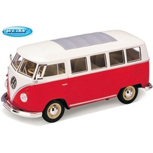 WELLY VW-Bus - 1962, rot