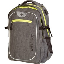 Wheel Bee Rucksack Revolution - two tone Grey