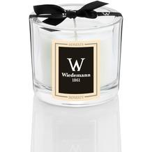 """Wiedemann Black Edition Parfum Duftkerze im Glas, """"Honesty"""" Champagner, Höhe 80 mm, ø 85 mm, 1 Stück"""