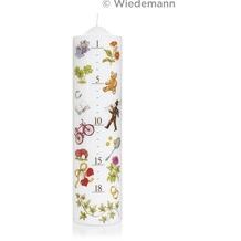 Wiedemann Lebenslicht Fotodruck, 1 Stück, Höhe 270 mm, ø 70 mm, Weiß