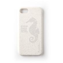 Wilma Stop Plastic Matt Seahorse for iPhone 6/6S/7/8 White