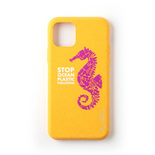 Wilma Stop Plastic Seahorse for iPhone 11 yellow