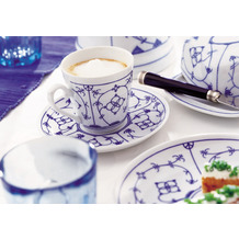 Winterling Tallin Indischblau Kaffeeservice für 6 Personen 18teilig