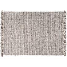 Wohn Idee Handwebteppich Lasse, anthrazit 70 cm x 140 cm