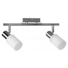 Wohnling 2 flammig LED Deckenleuchte inkl. Leuchtmittel E14 (EEK: A+)