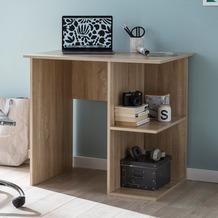 Wohnling Computertisch WL5.758 Sonoma Schreibtisch 82 x 60 x 76 cm, Kleiner Laptop PC Tisch Büro ohne Rollen