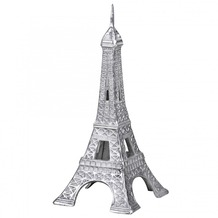 Wohnling Deko Eifelturm Tower Paris Farbe Silber