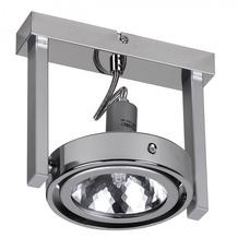Wohnling Design Deckenlampe Spot Alu Chrom 1 flammig G9 52W EEK: C