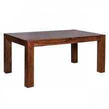 Wohnling Design Esstisch Massiv 160 - 240 cm ausziehbar Sheesham Massivholz
