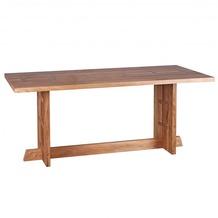 Wohnling Design Esstisch Massivholz Akazie Küchentisch 180 x 90 cm